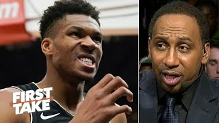 Stephen A. is changing his tune on The Greek Freak | First Take