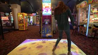 MagixFloor Arcade Game - Interactive Fun for Kids & Adults - Supplied by iActive Tech