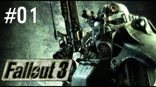 Fallout 3 Walkthrough -  Part 1 - Life In The Vault (Playthrough/Let