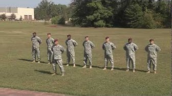 NCO Academy Drill and Ceremony