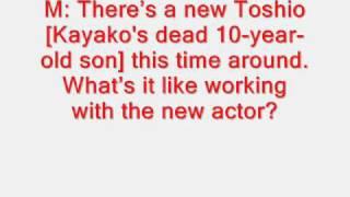The grudge 2: Interview with Takako Fuji [ Kayako ] Thumbnail