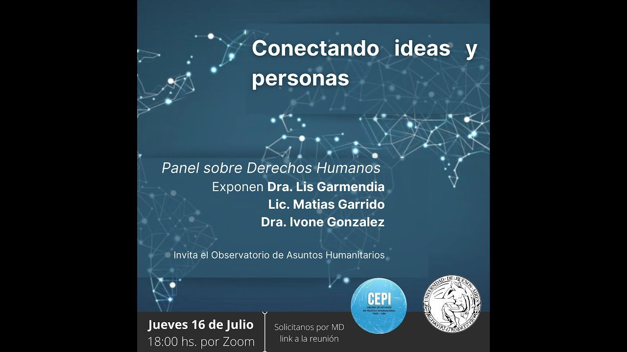 Conectando Ideas y personas: Derechos Humanos (#2)