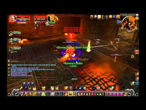 Lvl 49 paladin tanking 55 boss with epic group :D