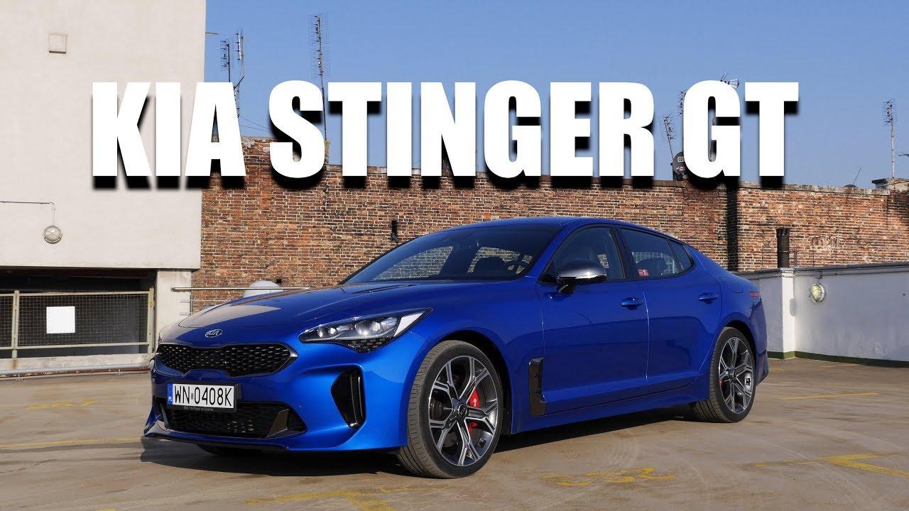 KIA Stinger GT V6 (PL) – test i jazda próbna