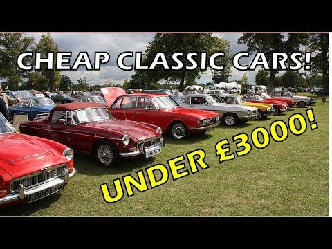 Cheap Classic Cars! Classic Car Buying Guide [Second Hand Superheroes Ep3]