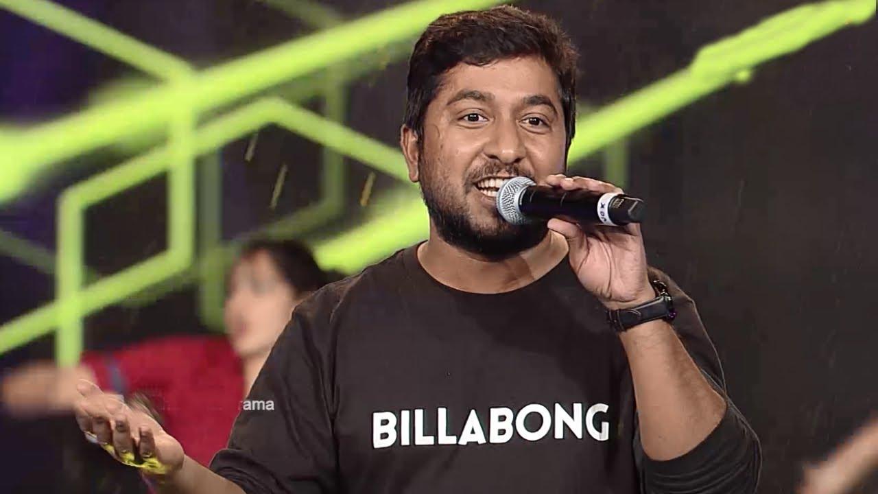Amma Mazhavillu L Vineeth Sreenivasan Rocks With Jimikki Kammal L Mazhavil Manorama