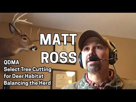 226 MATT ROSS - QDMA, Select Tree Cutting for Deer Habitat, Balancing the Herd
