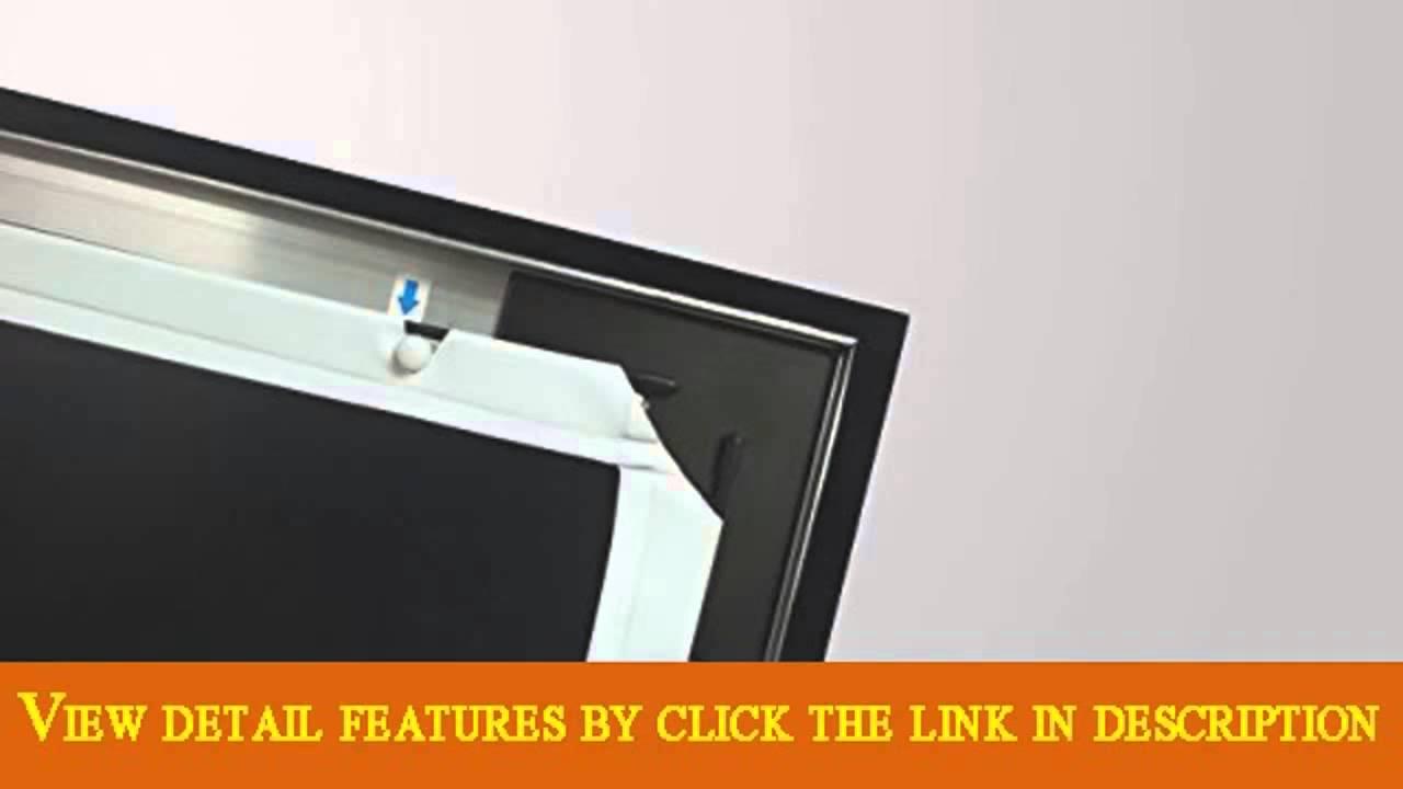 STR169175 Silver Ticket 175 Diagonal 169 HDTV 6 Piece Fixed Frame ...