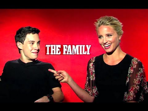 The Family - Dianna Agron & John D'Leo Interview (HD) JoBlo.com