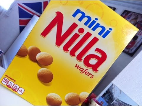 Mini NILLA Wafers - Produit Américain.