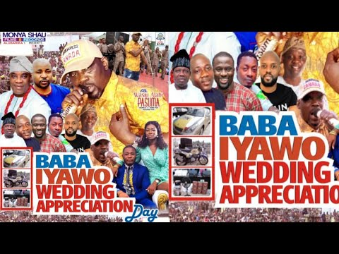 Download PASUMA ALABI - BABA IYAWO WEDDING APPRECIATION DAY