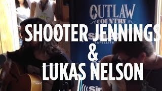 "Shooter Jennings & Lukas Nelson ""Down By The River"" // SiriusXM // Outlaw Country"
