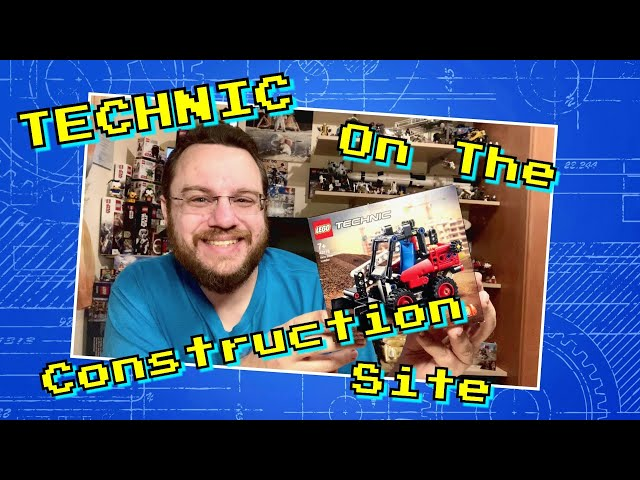 Construction Site Fun With The Skid-Steer Loader (Lego Technic 42116)