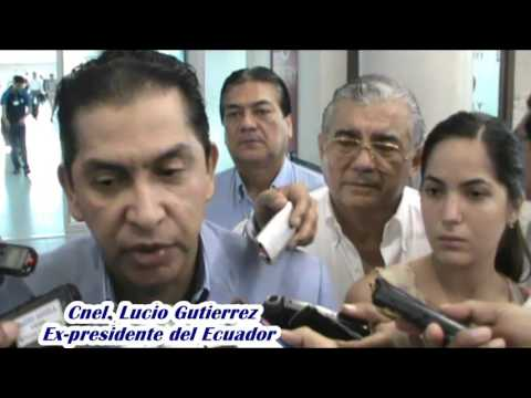 Cnel. Lucio Gutierrez, Ex-presidente del Ecuador