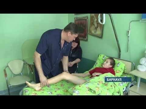 Уникальные хирургические методики освоили доктора федерального центра травматологии в Барнауле