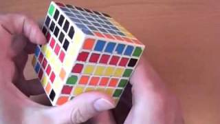 Как собрать кубик 6х6. ч.2/4 // How to solve 6x6. Part 2/4 Edges