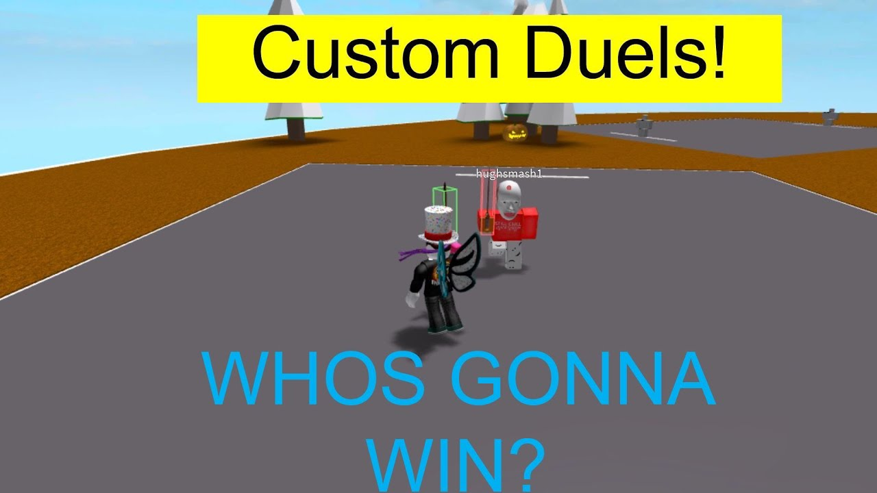 Shift Lock On Mobile Roblox Custom Duels Youtube