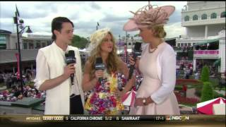 Johnny Weir, Tara Lipinski, Kentucky Oaks