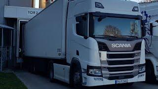 Unterwegs im neuen Scania R