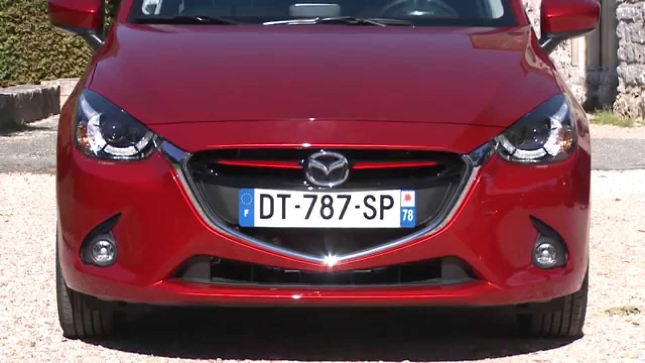 essai mazda 2 1 5l skyactiv d 105ch youtube. Black Bedroom Furniture Sets. Home Design Ideas