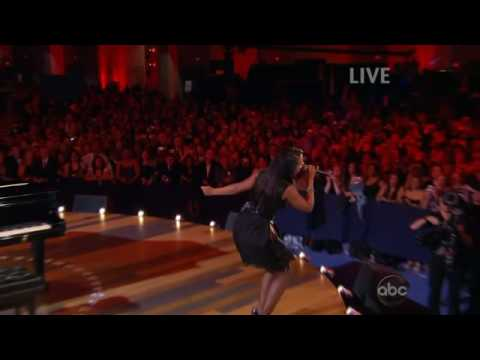 "ALICIA KEYS ""NO ONE"" HD BARACK AND MICHELLE OBAMA DANCE NEIGHBORHOOD BALL INAUGURAL"