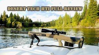 Desert Tech HTI .50 BMG & .375 Cheytac Review