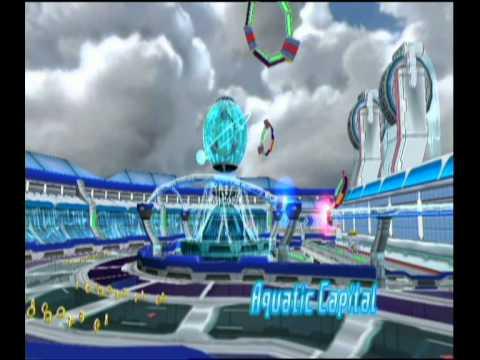 Sonic Riders Zero Gravity: Heroes Cup (Sonic)