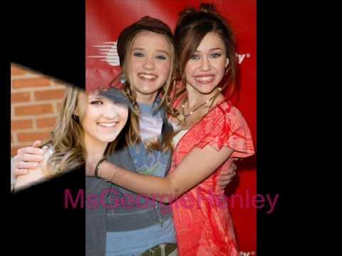 Georgie Henley,Anna Popplewell,Miley Cyrus,Emily O...