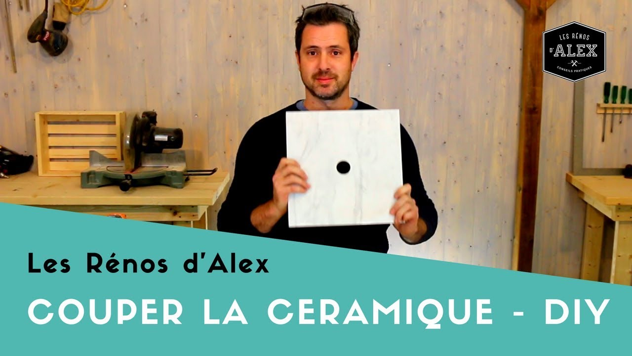 Comment couper la c ramique du carrelage diy youtube - Comment couper du carrelage ...