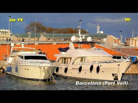Port Vell Barcelona Katalonien Spanien HD Reisebilderbuch jop TV