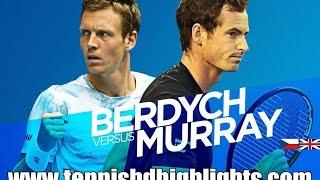 Andy Murray vs Tomas Berdych Highlights HD 1/2 Australian Open 2015