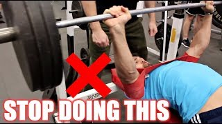 How to PROPERLY Bench Press | FIX YOUR FORM NOW