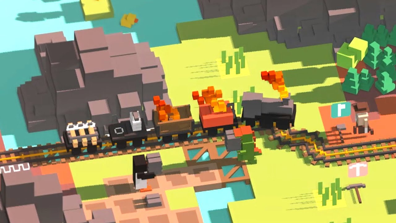 Building The Best Train Ever With Dynamite in Unrailed