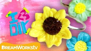 Flower Rings Polymer Clay Tutorial with PuddingFishCakes | I ♥ DIY