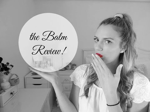 the Balm cosmetics Review   Marinelli