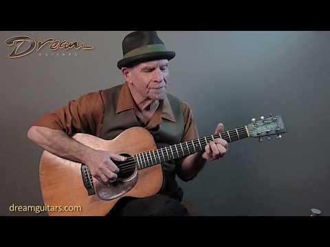 Dream Guitars Performance - Steve James - Railroad Blues Sam McGee