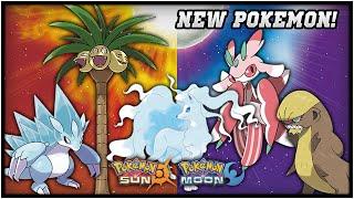 ICE TYPE NINETALES?? ALOLAN POKEMON! NEW POKEMON, NEW TYPE COMBOS! POKEMON SUN AND MOON
