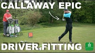 CALLAWAY EPIC DRIVER FITTING