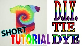 Rainbow Spiral Onie [Short Tutorial] #65
