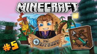 """""""MISLEADING FURNITURE!"""" - Minecraft: The Odyssey #5 (Modded Survival)"""