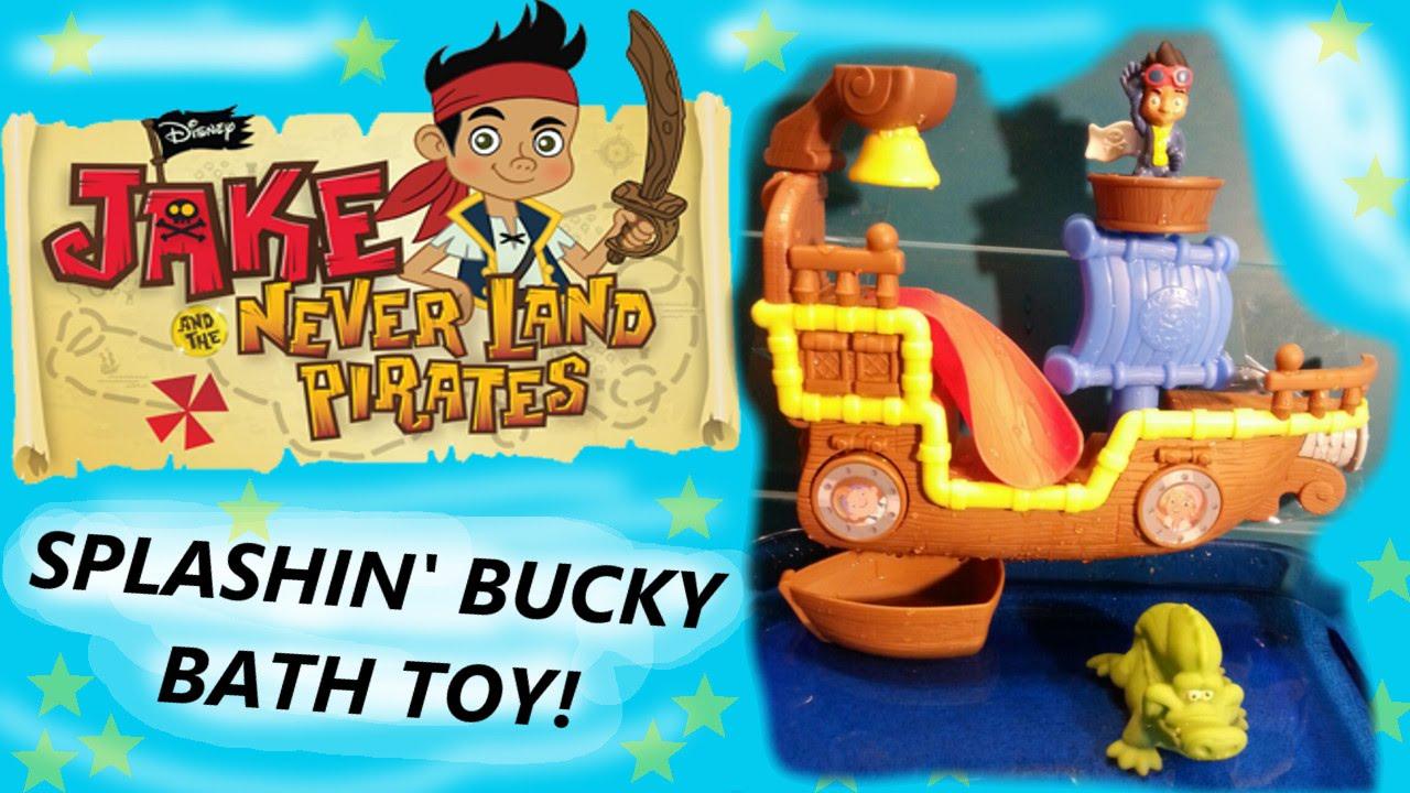Jake and the Never Land Pirates - Splashin\' Bucky Bath Toy! By ...
