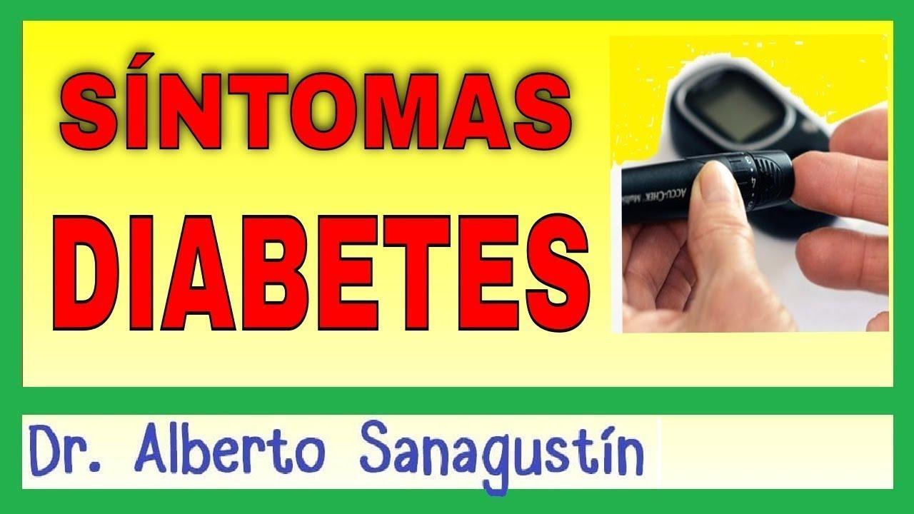 síntomas básicos de diabetes