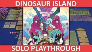 Dinosaur Island | Solo Playthrough | slickerdrips