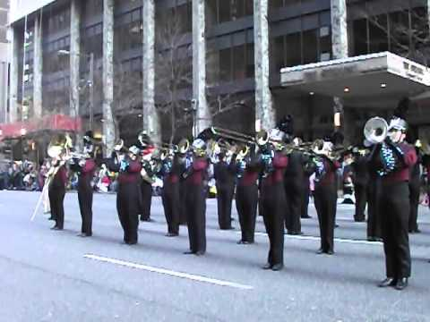 Lakeside High School Marching Band at the 2012 Dunkin Donuts Philadelphia Thanksgiving Day Parade