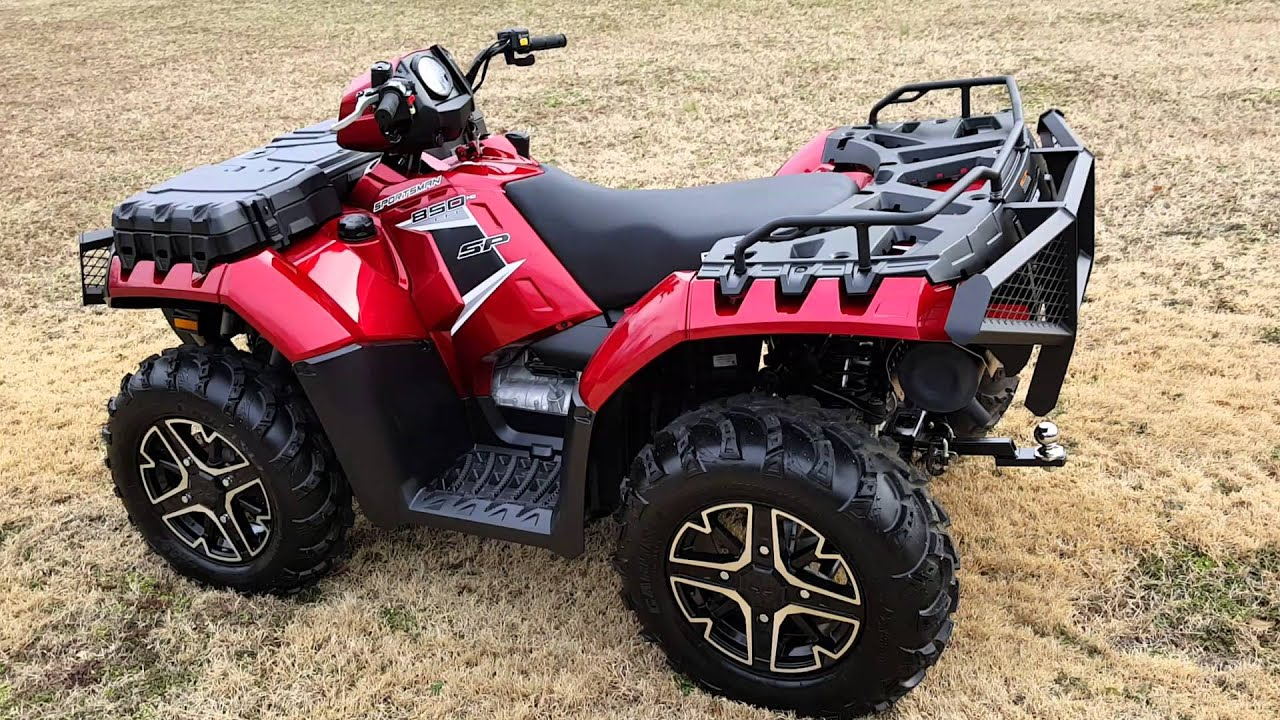 Polaris Sportsman 2018 >> 2015 Polaris Sportsman 850 SP - YouTube