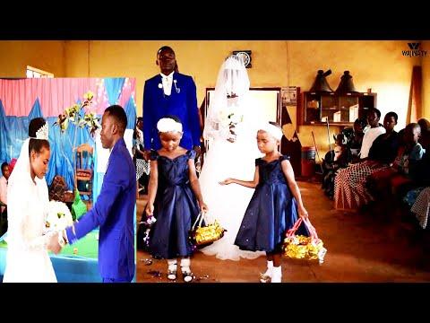 Download NDOA ILIYOONGOZWA NA WATOTO MIAKAMI5,NDOA YAKWANZA YA KISABATO KUTOKEA DUNIANI,AHABU & ZELDA WEDDING
