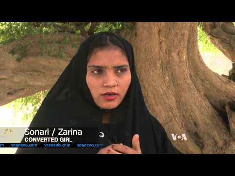 Pakistani Hindus Complain of Forced Conversion of Teenage Girls