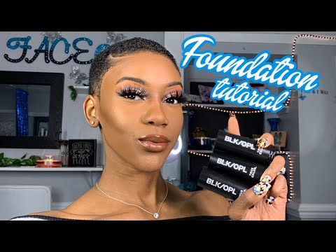 FULL COVERAGE FOUNDATION TUTORIAL | Ashley The Mogul