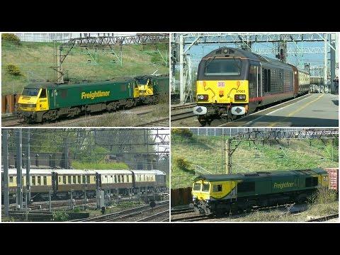 Crewe Salop Goods Junction + Station - 8th April 2017