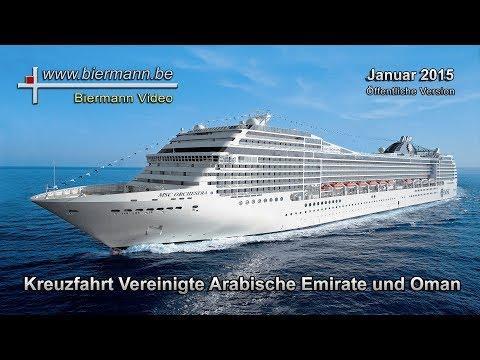 Kreuzfahrt MSC Orchestra VAE und Oman (2015)